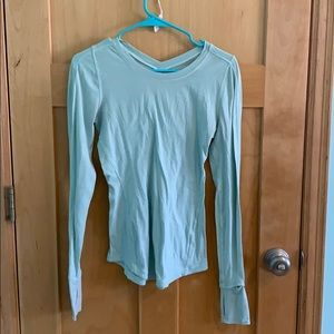 Lulu Lemon Long Sleeve Workout Shirt